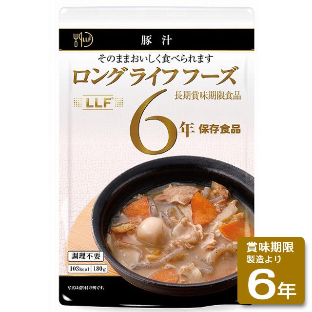 ロングライフフーズ:豚汁